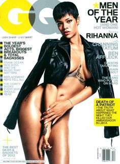 Rihanna Cover shoot - GQ Magazine (November 2012)