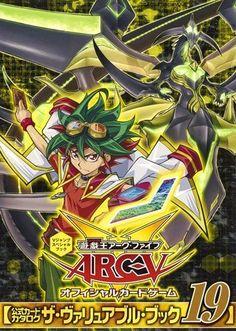 Yu-Gi-Oh! ARC-V Official Card Catalog The Valuable Book 19 Card Game JAPAN