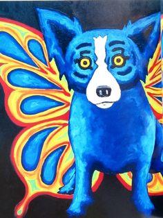 | Blue Dog Man: George Rodrigue