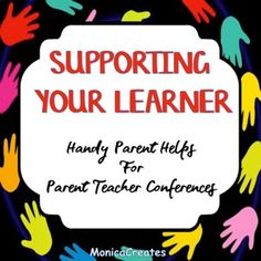 "Be a Super Hero for Parent Teacher Conferences with these handy printables! Forms and Ideas for Kindergarten - 3rd grade parents include: Specific parent suggestions on how to support their learner, alternatives for ""How was your day?"", reading prompts bookmarks, and debugging Reading lingo."