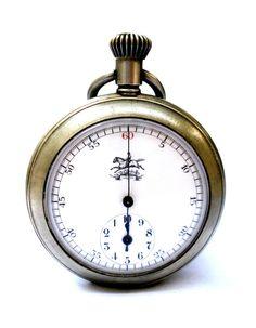 Coleccionistas Antiguo Reloj Bolsillo Suizo Open por shopvintage1
