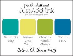 """Just Add Ink #413...""""Colour"""""""