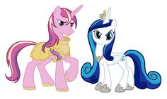 Princess candence and shining armor switched