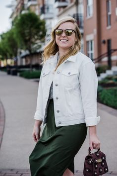 34aace0f84d3 Maggie a la Mode - Everlane Denim Jacket - Perfect for the sping and summer  weather