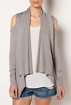 #witcherywishlist Cut Out Shoulder Cardi | Women's Clothing by Witchery Online