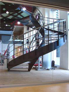 Gimnasio 365 #escaleradecaracol #escalera #caracol #stairs #gym #architecture #arquitectura