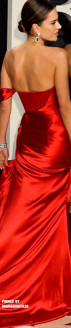 2017 Vanity Fair Oscars After Party Alessandra Ambrosio