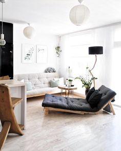 Modern Vibes! In Diesem Wunderschönen Wohnzimmer Kann Man Sich Nur  Wohlfühlen. Ein Super Bequemes