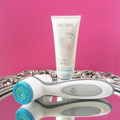 LumiSpa device and cleanser on an ornate mirror, clearly reflected in the mirror's surface. Nutriol Shampoo, Bronzing Pearls, Eyebrow Serum, Best Facial Cleanser, Beauty Awards, Facial Care, Anti Aging Skin Care, Rosacea, Qvc