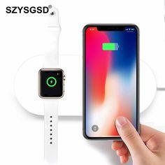 Hoco Drahtlose Ladegerät Für Iphone X Xr Xs 8 Qi Wireless Charging Pad Für Samsung S9 S8 Plus Xiao Mi Mi 9 Usb Handy Ladegerät Handy-zubehör