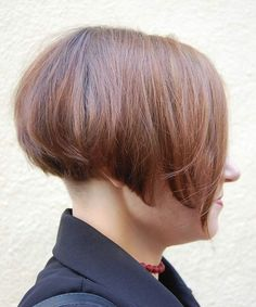 how to cut a wedge haircut asymmetrical undercut bob with clippered nape enzo 5557