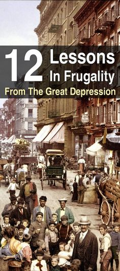 Even if we never have another depression, it's still a good idea to be frugal so you can either put more money in the bank or stock up on more supplies.