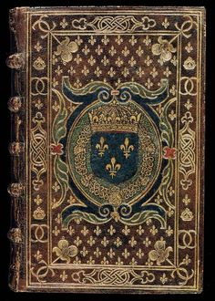 Rare edition of St. Maximus, bound for Charles IX by Claude de Picques.  16th Century