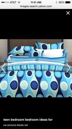 High Quality Blue Comforter Sets, Bedding Sets, Blue Duvet, Bed In A Bag, Blue Bed,  Duvet Covers, Home Ideas, Bedroom, City Scene