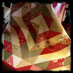 Cinnamon & Spice by CASharp, with complete quilt pattern with free instructions!