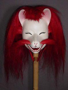 Yoshiwara Kitsune Noh mask