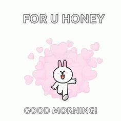 Good Morning Kiss Gif, Cute Good Morning, Good Morning Messages, Beautiful Romantic Pictures, Kawaii Quotes, Cute Bear Drawings, Cute Cartoon Images, Cute Love Gif, Cute Pikachu