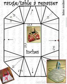 Meu centro é: 18 x 32 cm e as extremidades foram todos os 16 cm de H (rectângulo total de 64 x 50 cm)