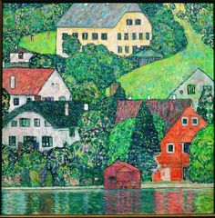 Houses in Unterach on Lake Attersee, 1915/16