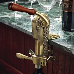 Legacy Antique Bronze Corkscrew - Overstock™ Shopping - Great Deals on Wine Enthusiast Bar & Wine Tools