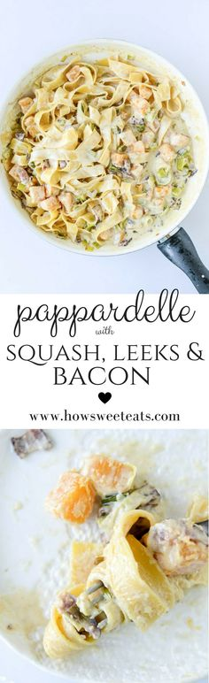 Butternut Squash Pappardelle I howsweeteats.com @howsweeteats