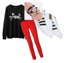 """""""Untitled #9"""" by ashley-smith-18 on Polyvore featuring Michael Kors, adidas, women's clothing, women, female, woman, misses and juniors"""