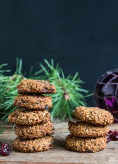 Healthy cookies in just 10 minutes!- Gesunde Cookies in nur 10 Minuten! – Mrs Flury – gesund essen & leben Healthy cookies vegan in 10 minutes bake free - Dessert Oreo, Paleo Dessert, Healthy Desserts, Dessert Recipes, Pudding Desserts, Healthy Recipes, Desayuno Paleo, Healthy Biscuits, Desserts Sains