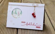 Weihnachtskarte / christmas card, Alexandra Renke, Charlie & Paulchen