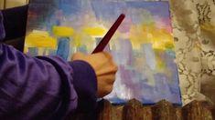 Painting a cityscape in 10 minutes 2 Watch, Painting, Art, Craft Art, Bracelet Watch, Paintings, Clocks, Kunst, Gcse Art