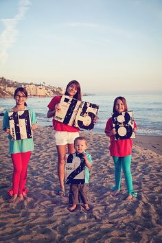 family 2012 154: http://whipperberry.com/about Cute idea for kids pictures and to know their ages when the pic was taken.