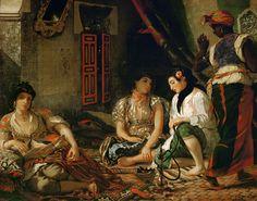 Mujeres de Argel en sus habitaciones, 1834