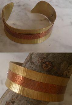 De latón con cobre Cuff Bracelets, Belt, Accessories, Jewelry, Fashion, Copper, Bangle Bracelets, Belts, Moda
