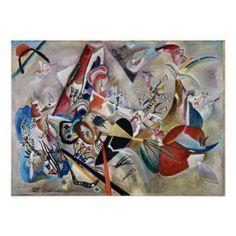 Kandinsky In Gray Poster