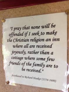The Episcopal Church Welcomes You!  (from Calvary Memphis FB page)