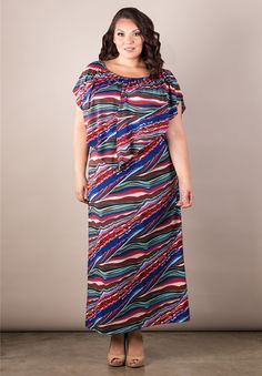 Annabelle Multi Wear Dress From the Plus Size Fashion Community at www.VintageandCurvy.com