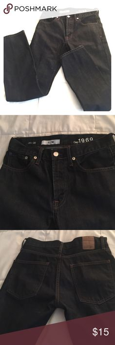 Gap 1969 Dark blue jeans. Slim. Like new. Dark denim. Slim fit. 29 X 30 GAP Jeans Straight Leg