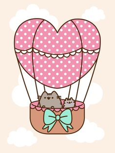 Pusheen Android wallpaper