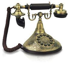 Old Telephone   1910 Duke Antique Reproduction Telephone Vintage Phone