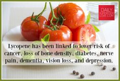 Tomatoes are your best source of lycopene benefits but you can also get this valuable nutrient from watermelon, grapefruit, asparagus, mango, and carrots.