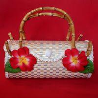tiki hawaiian bag