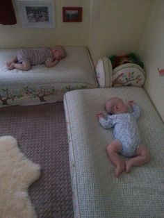 Pool noodles can be used for so much more than just pool activities.  One parent found that noodles put under her sons' fitted sheets kept them from rolling off of their low beds.