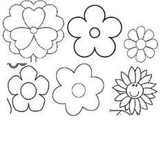 Aunque no lo parezca, no me he olvidado del fieltro. Sigo con las flores, que, por si no se nota, me gustan mucho. Son fáciles y, con los co...