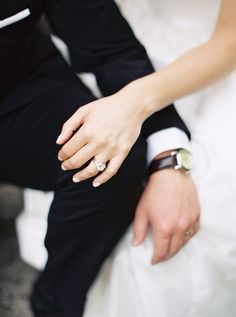 Gorgeous Ontario wedding: http://www.stylemepretty.com/2015/09/02/intimate-ontario-estate-wedding/   Photography: When He Found Her - http://whenhefoundher.com/