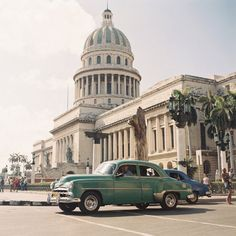 When Jose sent over these images from his recent trip to Cuba, I told him that they deserved to be in a gallery. We all know Jose Villa thanks to his beloved wedding photographs, though what we don't . Oh The Places You'll Go, Places Around The World, Places To Travel, Around The Worlds, Beautiful Islands, Beautiful Places, Havana City, Cuba Itinerary, Going To Cuba
