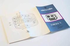 SOLARI UDINE EMERA 5 - Gino Valle - 1956 - (instruction booklet) - VERY RARE in…