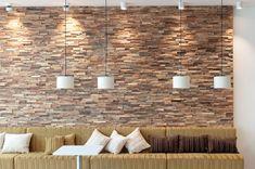 Wandverkleidung Lauris - Altholz - S. Fischbacher Living Timber Wall Panels, Timber Walls, 3d Panels, Wood Panel Walls, Wooden Walls, Wooden Wall Design, Wall Panel Design, Open Plan Kitchen Dining, Tv In Kitchen