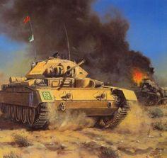 British Crusader Mk. I in North Africa 1941