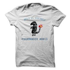 Best gift - Charmander Believe in yourself T-shirt/mug BLACK/NAVY/PINK/WHITE M/L/XL/XXL/3XL/4XL/5XL