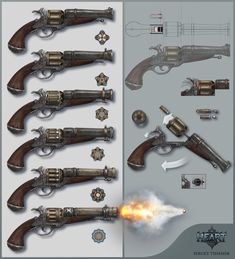 ArtStation - GUN, Sergey Tsimmer