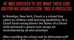 This is a true story told by a Dad who learnt something from a bunch of random kids who decided to dedicate their ball game that day to his disabled son. There are still people out there who will go out of their to give hope to others and don't take my word for it...read…